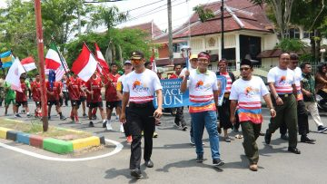 Dihadiri 14 Negara, Api Obor Peace Run 2020 Diambil di Pamekasan